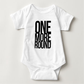 One More Round Baby Bodysuit