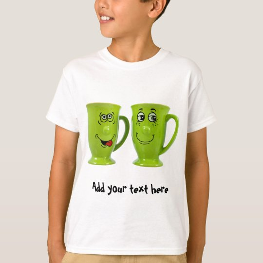 One mug says to another mug... tie T-Shirt