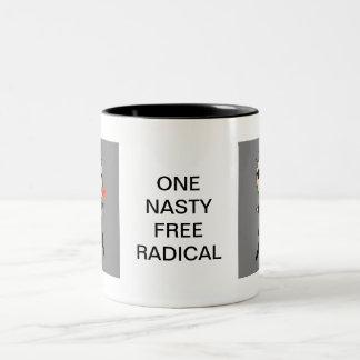 ONE NASTY FREE RADICAL CARTOON COFFEE MUGS