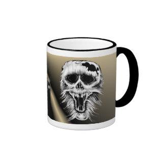 One Nasty Skull Mug