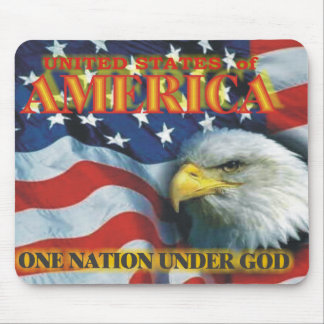 ONE NATION MOUSE PAD