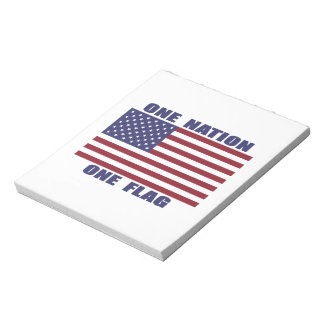 One Nation One Flag Scratch Pad