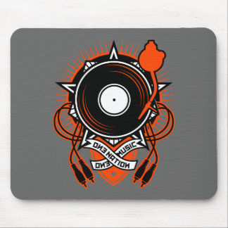 """""""One Nation, One Music"""" Mouse Pad"""