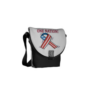 One Nation.png Courier Bags
