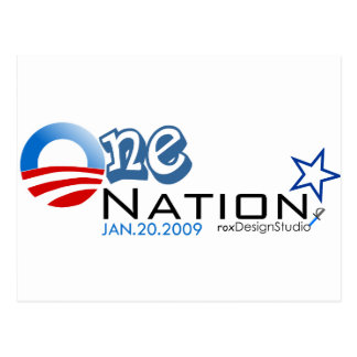 One Nation Postcard