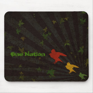 One Nation Rasta Mouse Mat