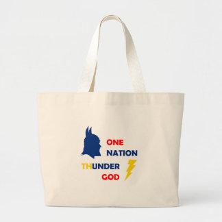 One Nation Thunder God Tote Bag