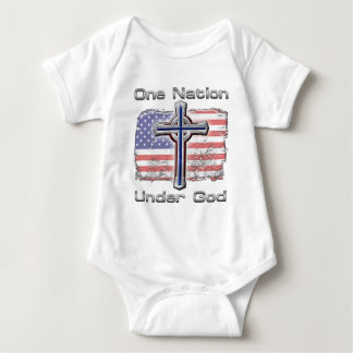 One Nation Under God Baby Bodysuit