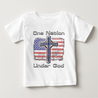 One Nation Under God Baby T-Shirt