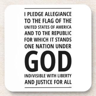 One Nation Under God Coasters