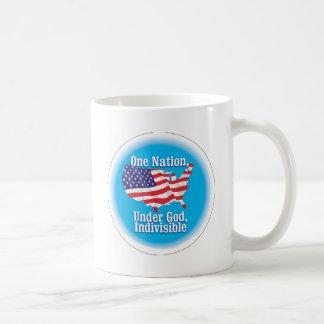 One nation under God. Indivisible Coffee Mug
