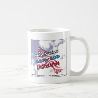 One Nation under God, indivisible Coffee Mug