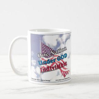 One Nation under GOD Indivisible Coffee Mug