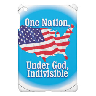 One nation under God. Indivisible iPad Mini Cases