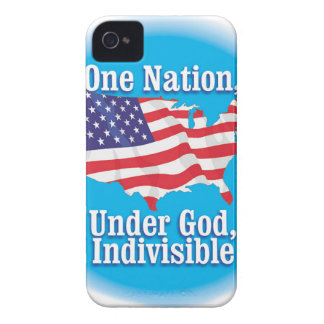One nation under God. Indivisible iPhone 4 Cover