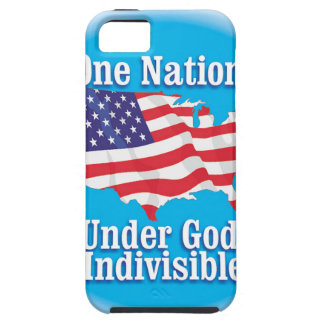 One nation under God. Indivisible iPhone SE/5/5s Case