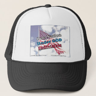 One Nation under GOD Indivisible Trucker Hat