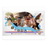 One Nation Under God: Lest We Forget Postcard