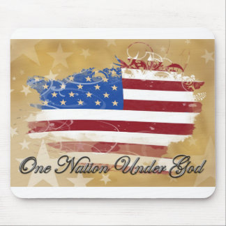 One Nation Under God Mouse Pad
