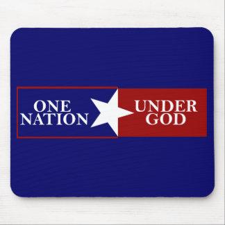 One Nation Under God mousepad