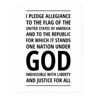 One Nation Under God Postcards