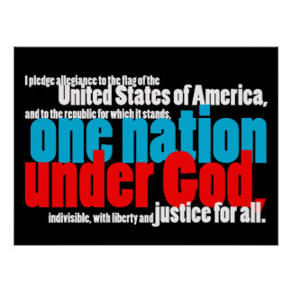 One Nation Under God Poster
