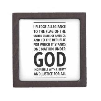 One Nation Under God Premium Trinket Box