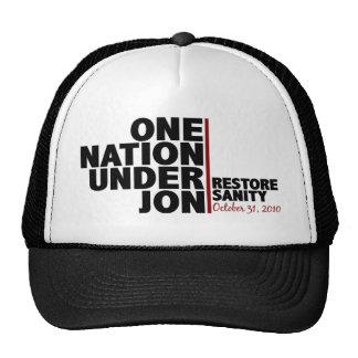 One nation under Jon (Restore Sanity) Trucker Hat
