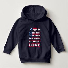 One Nation Under Love Hoodie