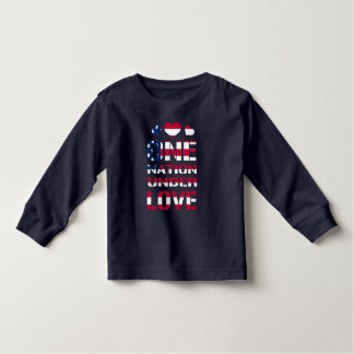 One Nation Under Love Toddler T-shirt