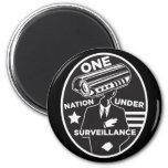 One Nation Under Surveillance Magnet