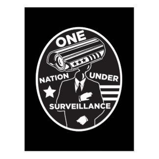 One Nation Under Surveillance Postcard