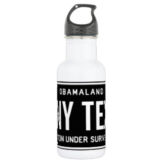 One nation under surveillance stainless steel water bottle