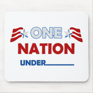 One Nation Underline Mouse Pad