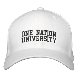 ONE NATION UNIVERSITY EMBROIDERED HAT