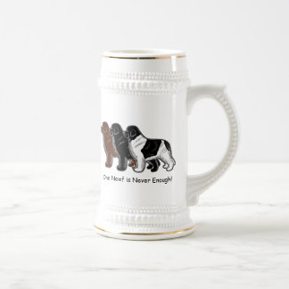 One Newf is Never Enough! Beer Stein