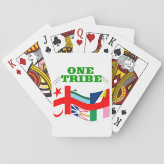ONE NEWFIE TRIBE PLAYING CARDS