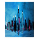 One Night In The City Print