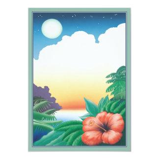 One Night In The Tropics © Card
