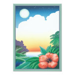 One Night In The Tropics © 5x7 Paper Invitation Card