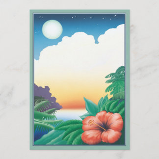 One Night In The Tropics © Note Card