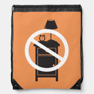 One Night Stand Drawstring Backpack
