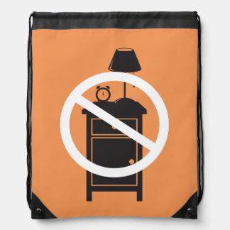 One Night Stand Drawstring Bag