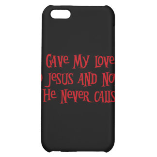 One Night Stand Jesus iPhone 5C Cases