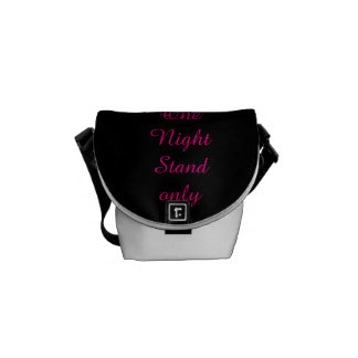 One Night stand Messenger Bag