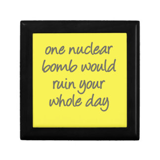 One nuclear bomb would ruin your whole day jewelry box