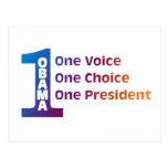 One Obama Postcard