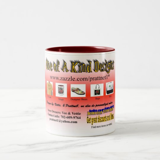 One of A Kind Desings 2 Coffee Mug