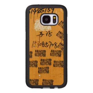 One-of-a-kind Exotic Hip Wood Samsung Galaxy S7 Case