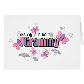 One Of A Kind Grammy Card